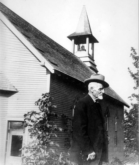 "The Rev. A.J. McNemee, known as ""Brother Mac,"" who spearheaded construction of the original Langley United Methodist Church.— Image Credit: Photo Courtesy Of Mary Vergin"