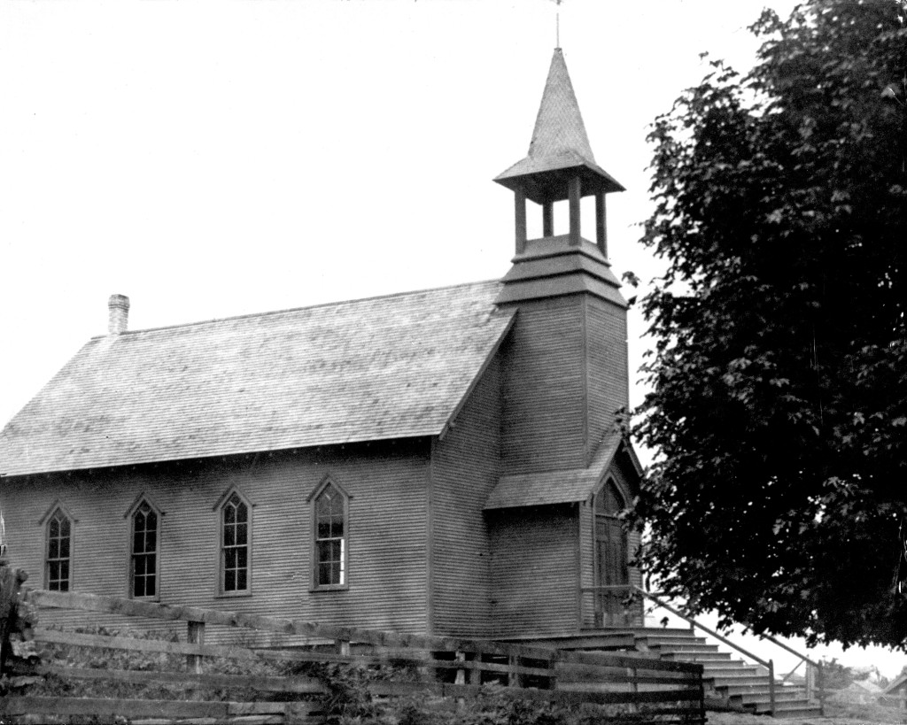 Langley Methodist Church 1909 Mary Vergin MOD