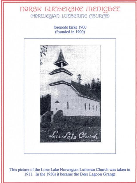 Lone Lake Lutheran Church / The Deer Lagoon Grange