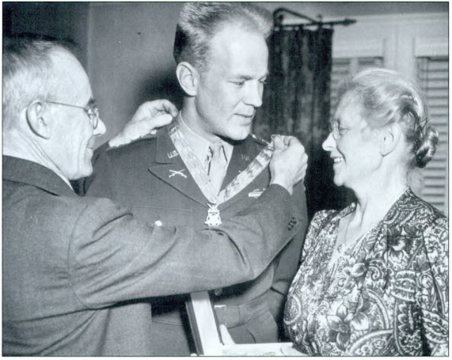 Clinton-born Medal of Honor recipient Arnold L. Bjorklund
